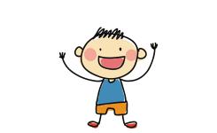 illustratie van een jongen