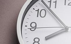 foto van een klok